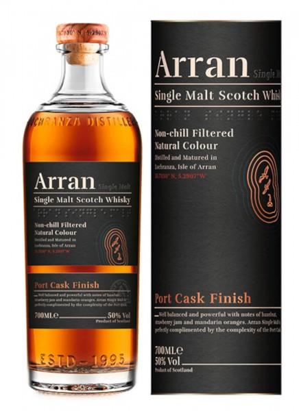 Arran Port Cask Finish Single Malt Scotch Whisky 0,7 L