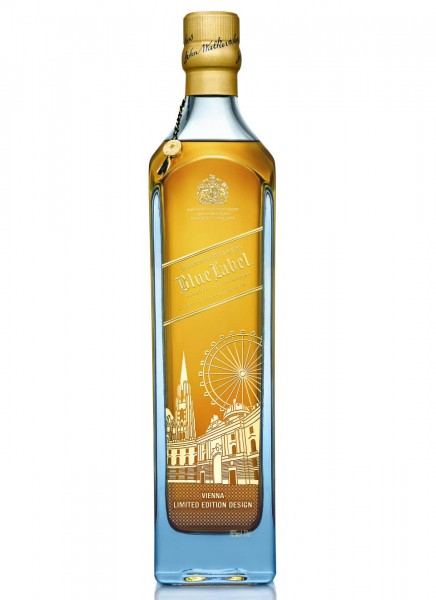 Johnnie Walker Blue Label Vienna Limited Edition Blended Scotch Whisky 0,7 L