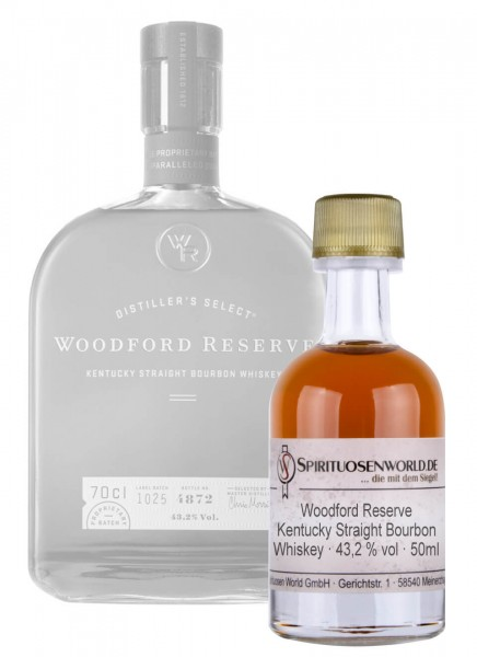 Woodford Reserve Whisky Tastingminiatur 0,05 L