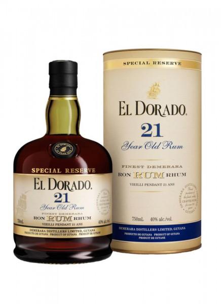 El Dorado 21 Years Rum 0,7 L