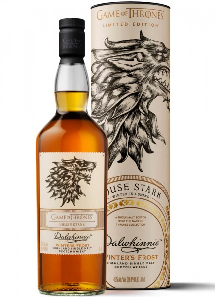 Dalwhinnie Winters Frost Game of Thrones Edition Whisky 0,7 L