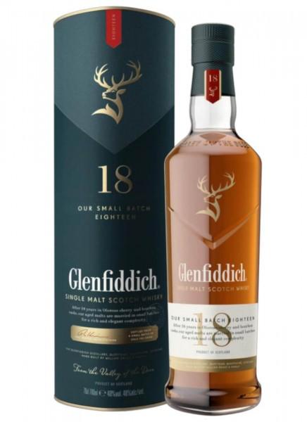 Glenfiddich 18 Years Single Malt Scotch Whisky 0,7 L