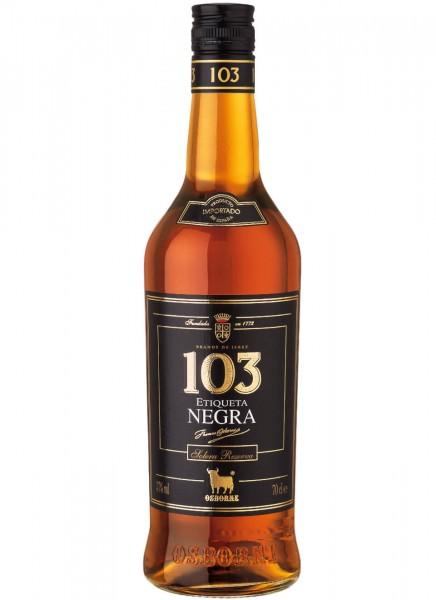 Osborne 103 Etiqueta Negra Brandy 0,7 L