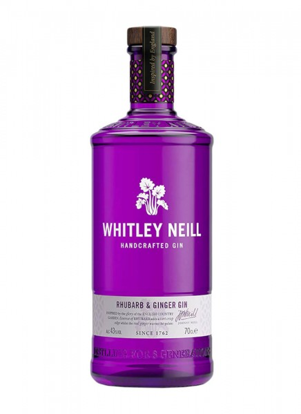 Whitley Neill Rhubarb Ginger Gin 0,7 L