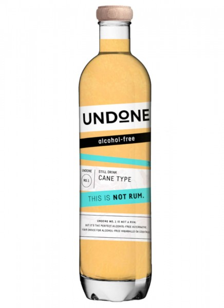 Undone No. 1 Sugar Cane Type This is NOT Rum! 0,7 L