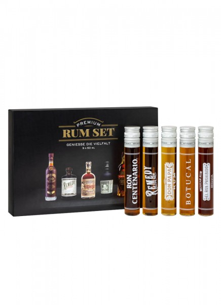 Sierra Madre Rum Tasting Kit 0,25 L