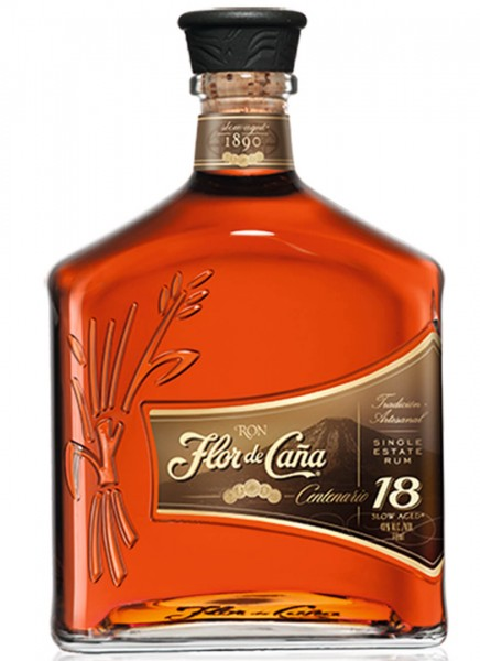 Flor de Cana Centenario 18 Jahre Rum 0,7 L