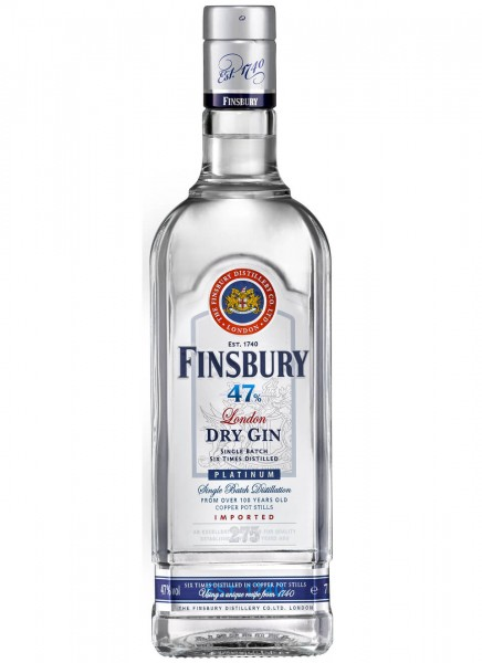 Finsbury Platinum London Dry Gin 1 L