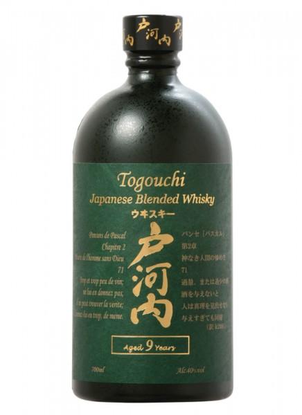 Togouchi 9 Jahre Premium Japanese Blended Whisky 0,7 L