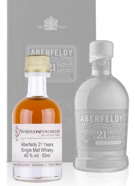 Aberfeldy 21 Jahre Whisky Tastingminiatur 0,05 L