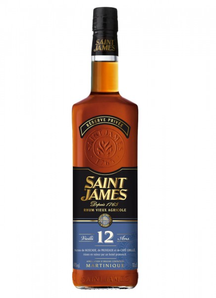 Saint James Rhum 12YO 0,7 L