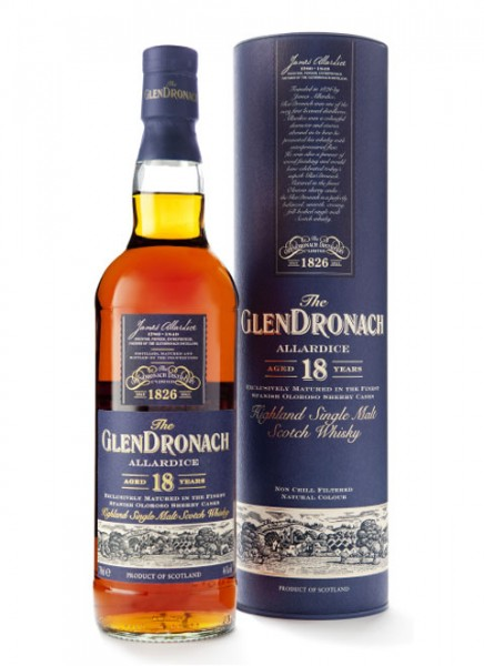 GlenDronach Allardice 18 Jahre Whisky 0,7 L