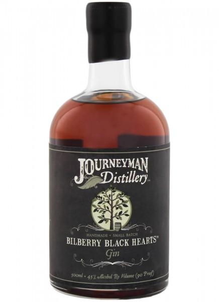 Journeyman Bilberry Black Hearts Aged Gin 0,5 L