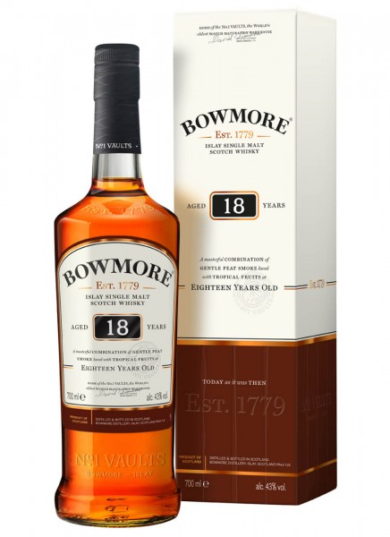 Bowmore 18 Years Islay Single Malt Scotch Whisky 0,7 L