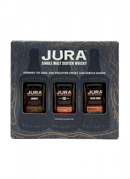 Jura Trilogy 3x5cl Single Malt Whisky Miniatur-Set 0,15 L