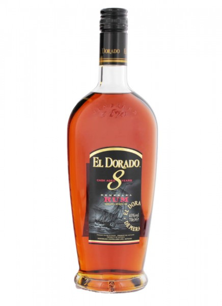 El Dorado 8 Years Rum 0,7 L