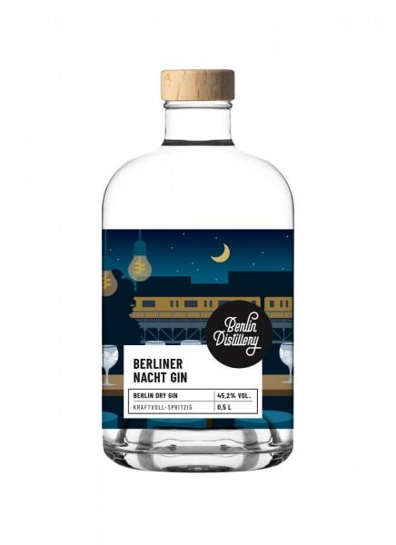 Berlin Distillery Berliner Nacht Gin 0,5 L