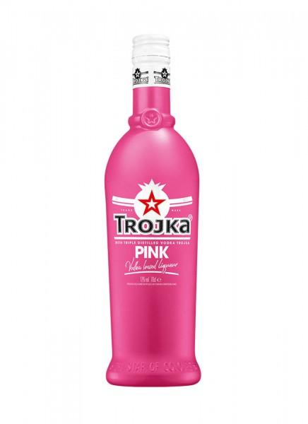 Trojka Vodka Likör Pink 0,7 L