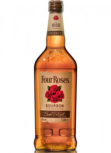 Four Roses Bourbon Kentucky Straight Bourbon Whiskey 1 L
