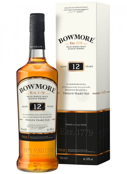 Bowmore 12 Years Islay Single Malt Scotch Whisky 0,7 L