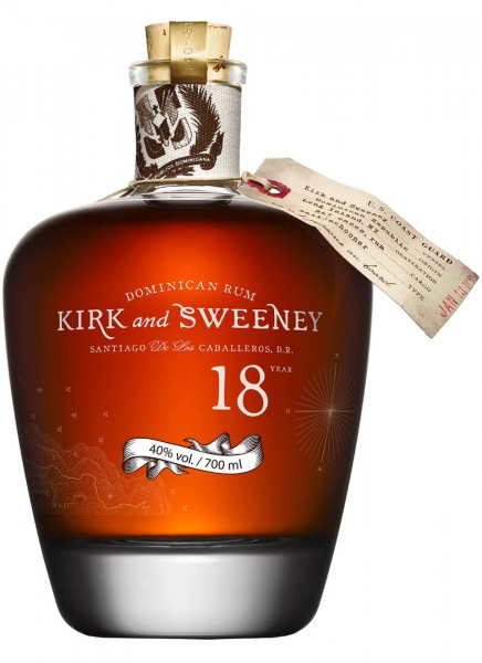 Kirk and Sweeney 18 Jahre Rum 0,7 L
