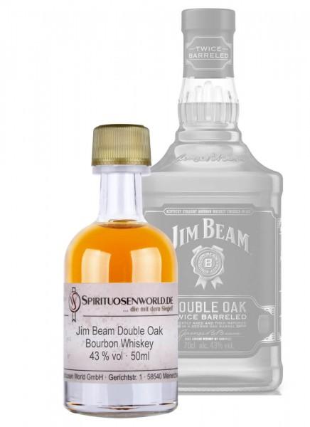 Jim Beam Double Oak Bourbon Whiskey Tastingminiatur 0,05 L