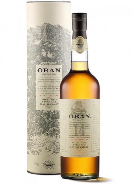 Oban 14 Years Single Malt Scotch Whisky 0,7 L
