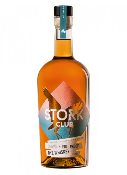 Stork Club Full Proof Rye Whiskey 0,5 L