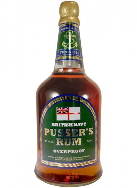 Pussers British Navy Overproof Rum 0,7 L