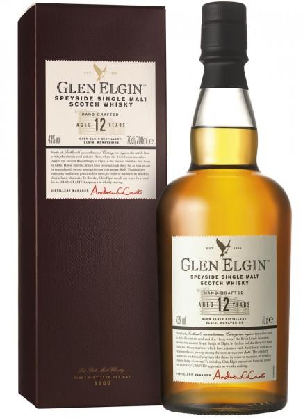 Glen Elgin 12 Years Whisky 0,7 L