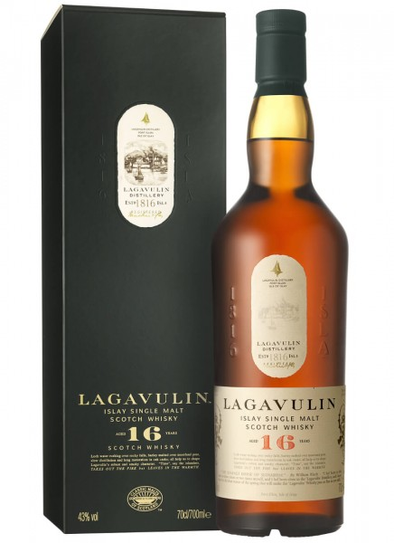 Lagavulin 16 Years Islay Single Malt Scotch Whisky 0,7 L
