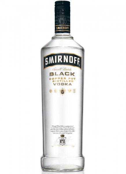 Smirnoff Black Label Vodka 1 L
