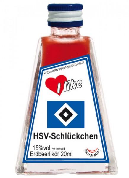Krugmann HSV-Schlückchen Mini Likör 0,02 L