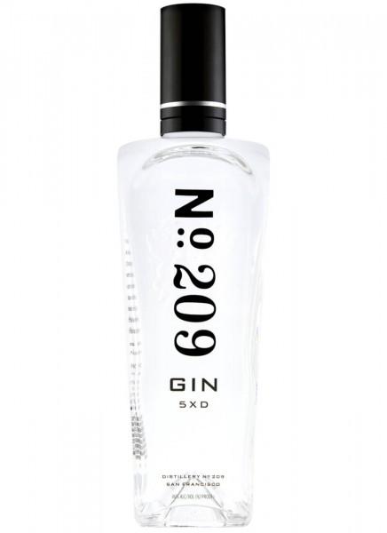 No. 209 Gin 5XD 0,7 L