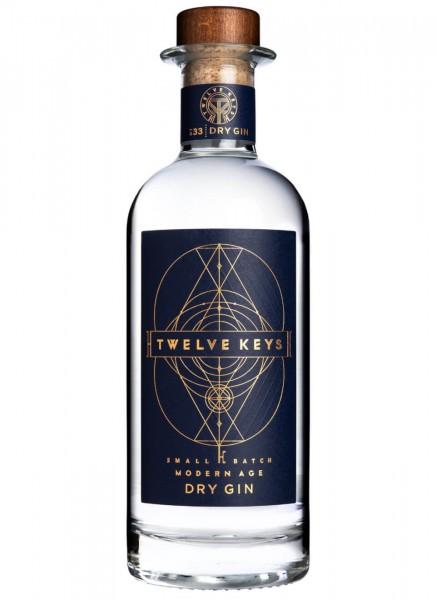 Twelve Keys Gin 0,7 L