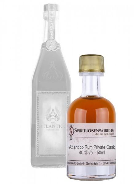 Atlantico Rum Private Cask Rum Tastingminiatur 0,05 L