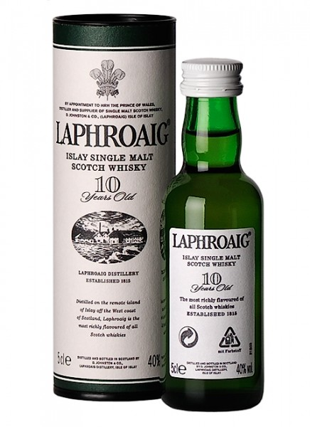 Laphroaig 10 Years Miniatur 0,05 L
