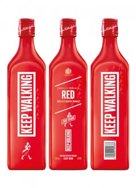 Johnnie Walker Red Icon 200y Limited Edition 0,7 L