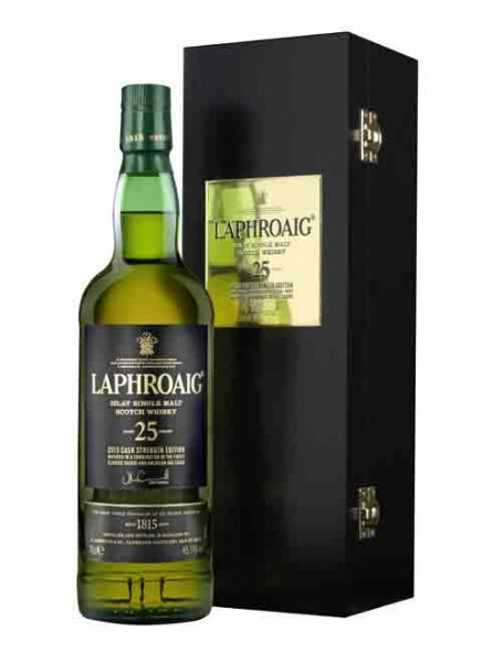 Laphroaig 25 Years Cask Strength 2015 Edition Islay Whisky 0,7 L
