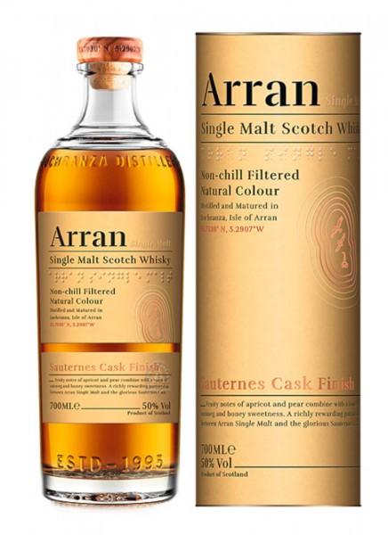Arran Sauternes Cask Finish Single Malt Scotch Whisky 0,7 L
