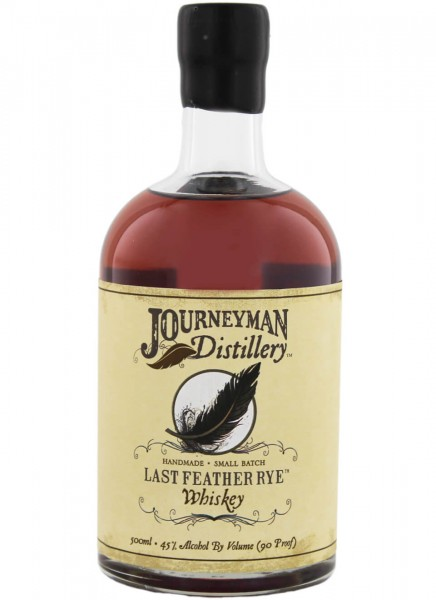 Journeyman Last Feather Rye Whiskey 0,5 L