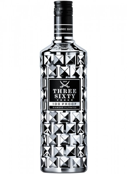 Three Sixty 100 Proof Vodka 0,7 L