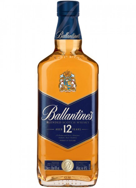 Ballantine's Blended Scotch Whisky 12 Years 0,7 L