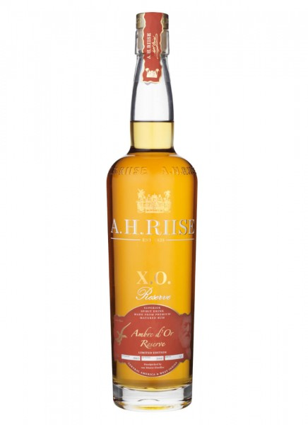 A.H. Riise X.O. Reserve Rum Ambre d'Or 0,7 L