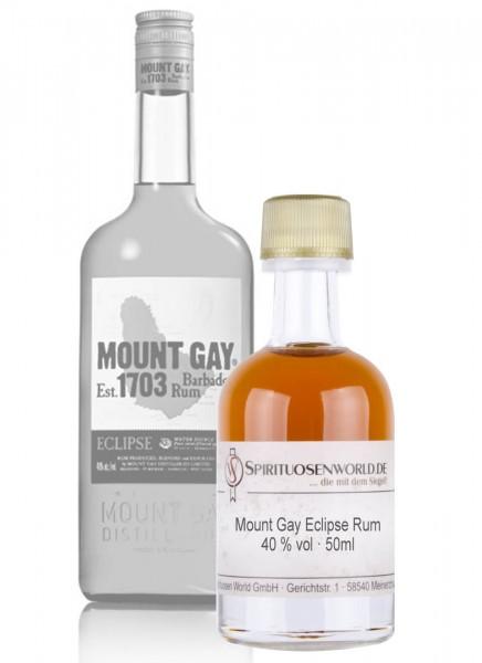 Mount Gay Eclipse Rum Tastingminiatur 0,05 L
