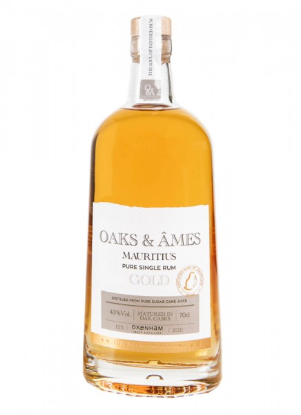 Oaks & Ames Mauritius Gold Rum 0,7 L