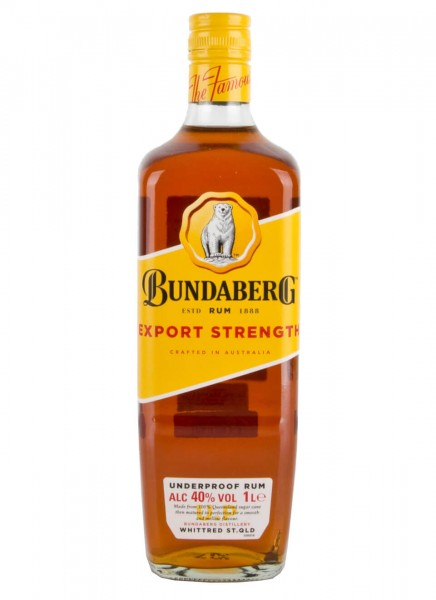 Bundaberg Export Strength Rum 1 L