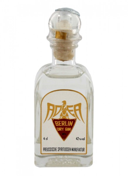 Adler Berlin Dry Gin Miniatur 0,04 L