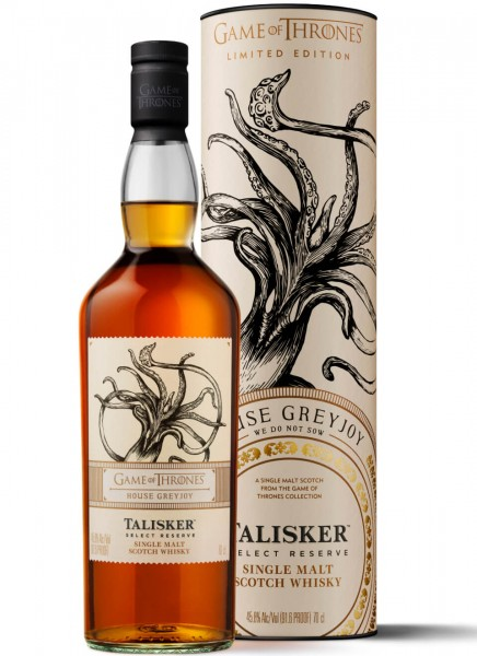 Talisker Select Reserve Game of Thrones Edition Whisky 0,7 L