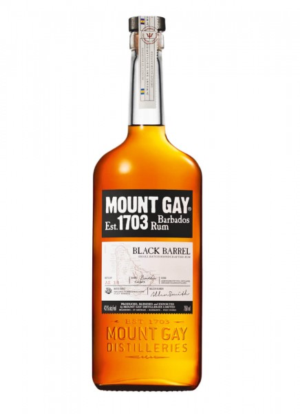 Mount Gay Black Barrel Rum 0,7 L